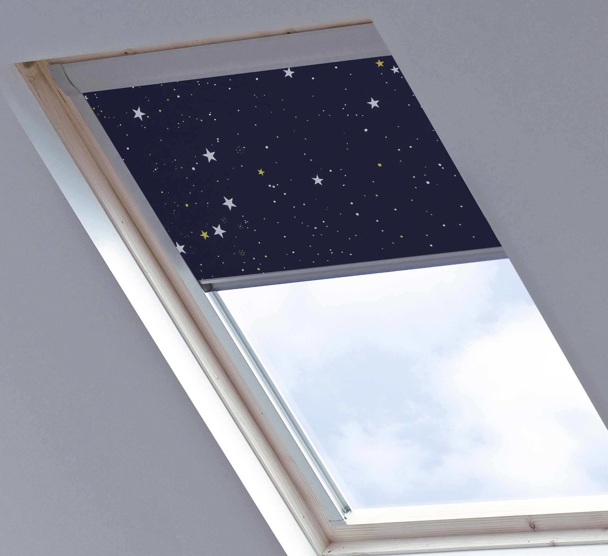 Skylight blinds d c blinds Velux skylight shade